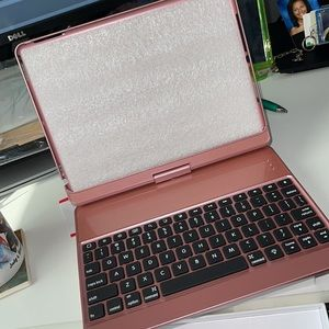 iPad 360 Rotating Swivel Cover Case with Keyboard